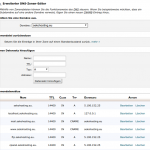 Cpanel - Domainverwaltung und DNS-Editor
